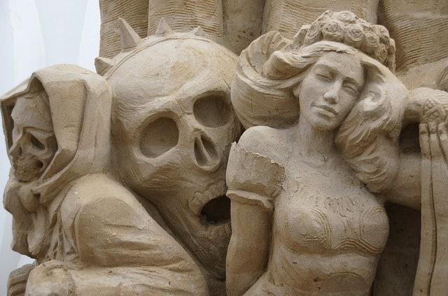 usedomer sandskulpturen